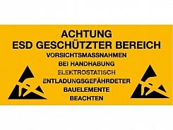 Kennzeichnung Arbeitsplätze