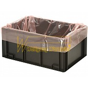 PERMASTAT® gusseted bags for tote boxes