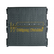 Wez Rack®System, Double height wall 400/ 422/432, 355 x 345 x 22/32mm, 180 series