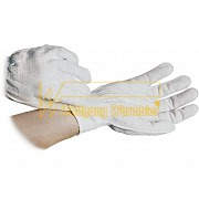 ESD-Gloves - nylon-polyester-mixture with cuffs - 8745.CG