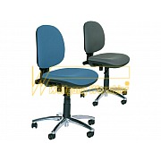 'Economy chair' - standard model  in colour blue and grey