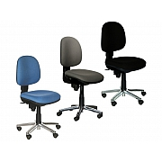 'Comfort chair' - standard model in colour blue, grey or black
